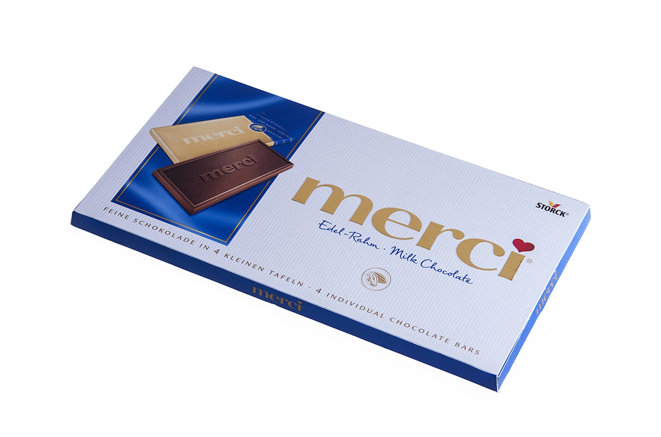 Fotografie produs la ciocolata Merci