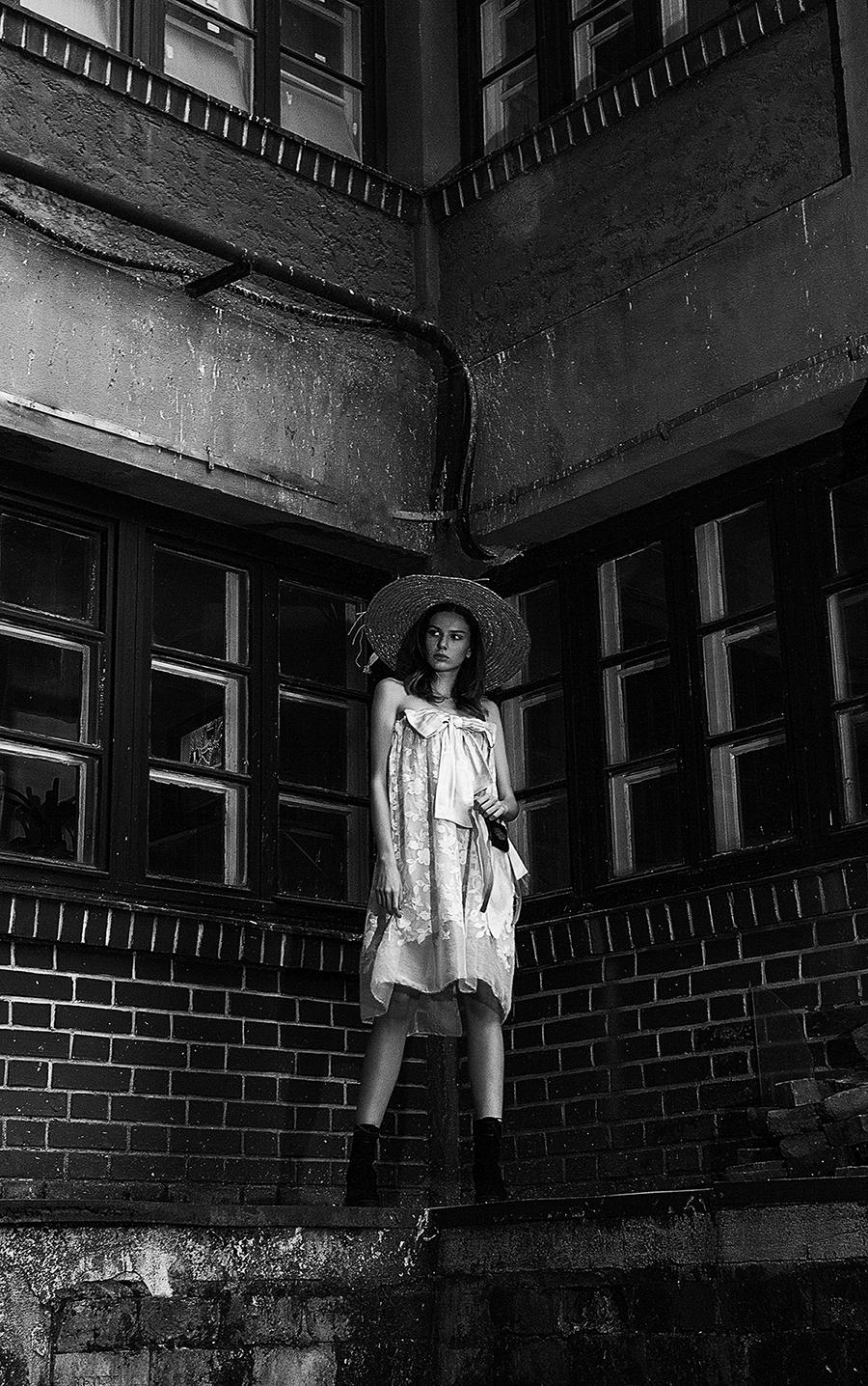 Sedinta foto fashion editorial pentru atelier vestimentar