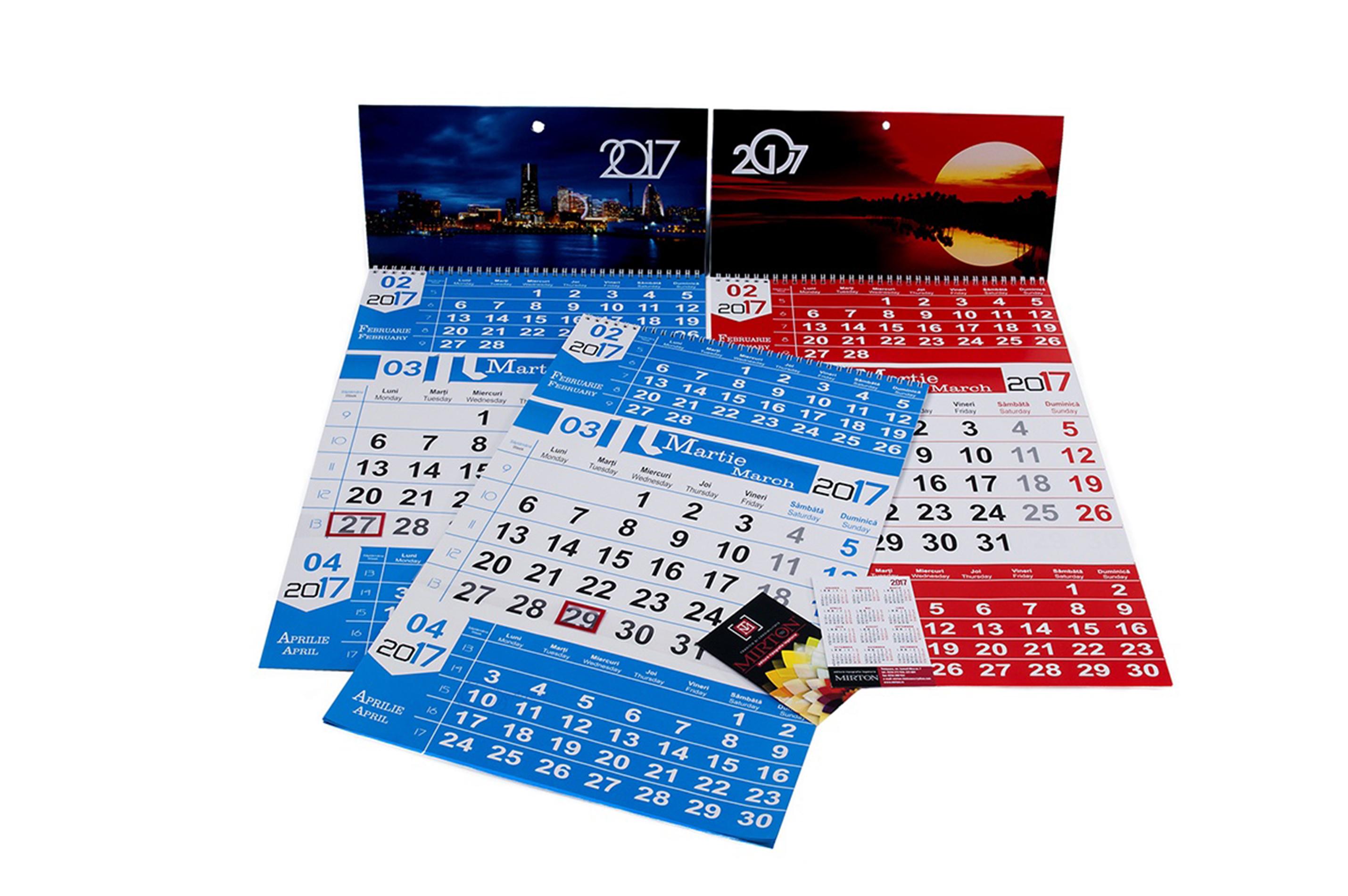 Fotografie produs calendare