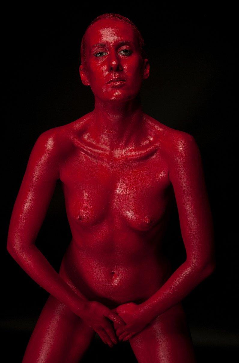 Ședință foto naked în studio