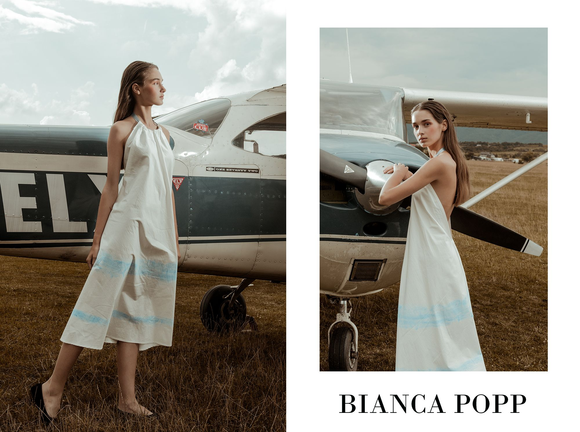 Editorial fashion colectie Bianca Popp