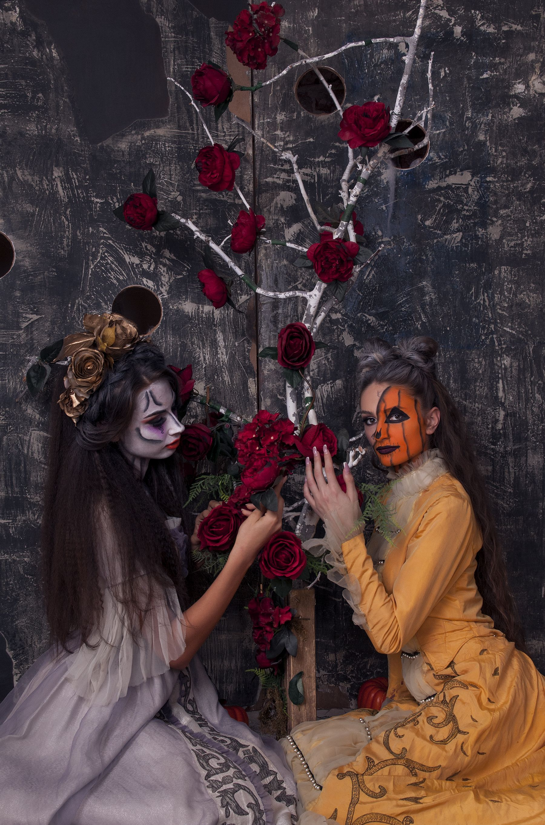Shooting tematic de halloween fashion